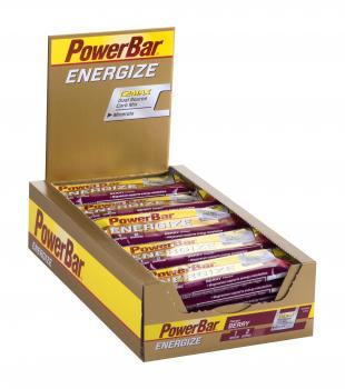PowerBar Energize Bar Box (25 Riegel x 55g)