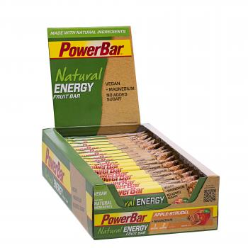 PowerBar Natural Fruit & Nut Bar Box (24 x 40g)