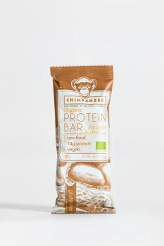 Chimpanzee Organic Vegan Protein Bar 45 g (Box à 25 Riegel)