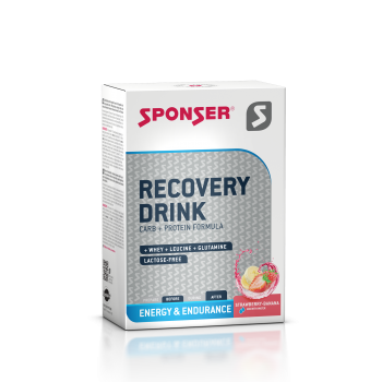 Sponser Recovery Drink Box (Beutel 6 x 60g)