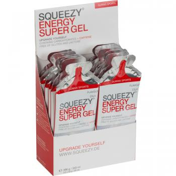 Squeezy Super Energy Gel  Box12 x 33g
