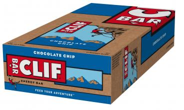 Clif Bar Energieriegel Box Chocolate Chip