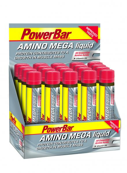 PowerBar Amino Mega Liquid Ampulle Box (20 x 25ml)