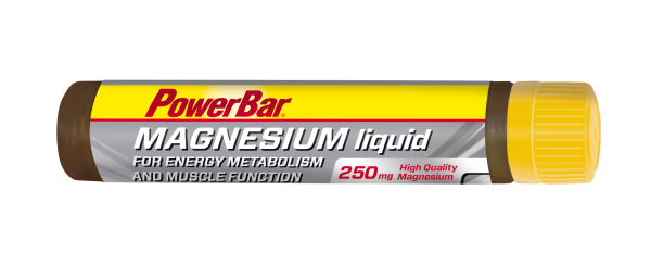PowerBar Magnesium Liquid Ampulle 250mg (Box 20 x 25ml)