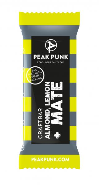 Peak Punk Bio Craft Bar Almond Lemon