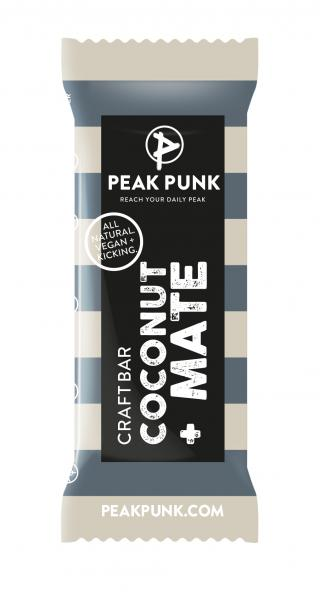 Peak Punk Bio Craft Bar Cocnut Mate